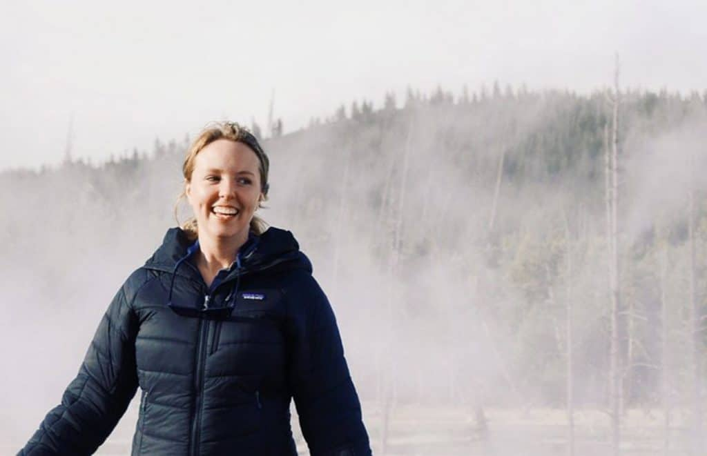 Colleen Peterson at Yellowstone